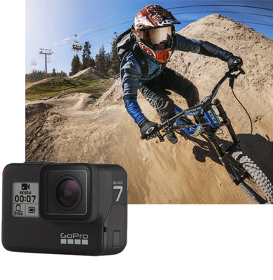GoPro Hero 7 Black en location sur Littlecam.fr